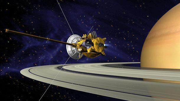Зонд Cassini впоследний раз сказал наЗемлю фотографии Титана