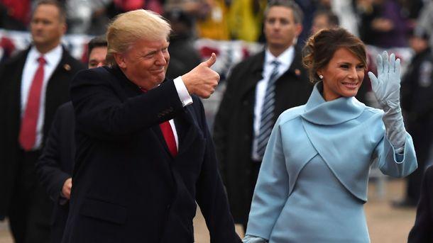 Трамп поздравил супругу Меланью сднем рождения в Твиттер