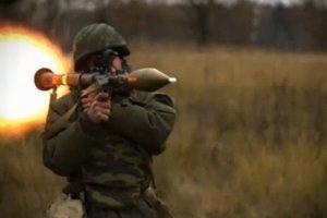 Боевики обстреляли позиции украинских военных возле Новотроицкого из запрещенного оружия