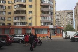 В Черкассах разбился мужчина, выпав из окна многоэтажки
