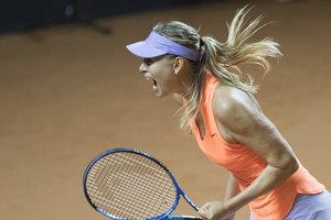 Мария Шарапова выиграла второй подряд матч после дисквалификации за допинг