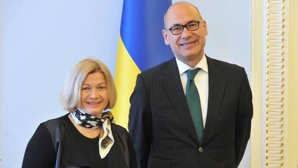 Геращенко рассказала, сколько пленных украинцев убоевиков
