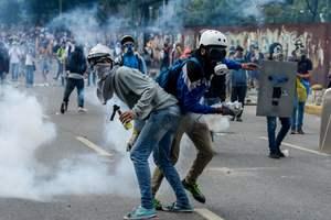 В Венесуэле число задержанных на протестах превысило 1,5 тысячи человек