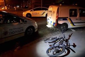 В центре Киева курьер на велосипеде развозил наркотики