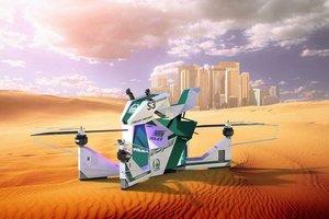 Полиция Дубая оседлает российские летающие мотоциклы