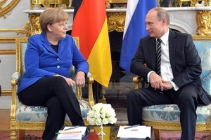 Меркель и Путин 2 мая обсудят Украину – СМИ