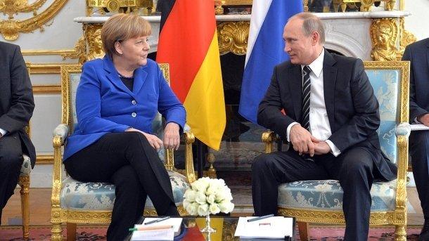 А.Меркель 2мая вСочи встретится с В.Путиным