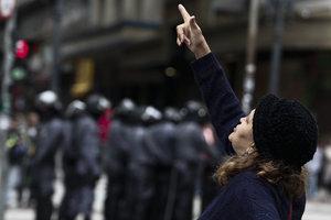 В Бразилии прошла первая за более чем 20 лет всеобщая забастовка