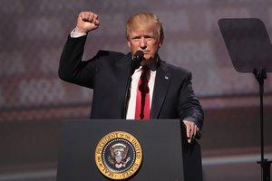 Трамп перечислил свои достижения за 100 дней президентства
