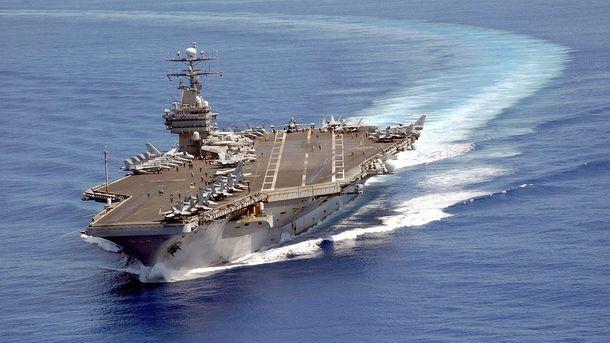 Авианосная группа США вошла вЯпонское море