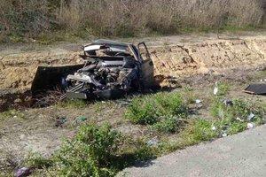 В Полтавской области в ДТП погиб полицейский