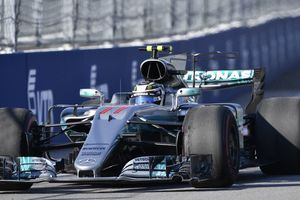 Валттери Боттас на Гран-при в Сочи выиграл первую гонку Формулы-1 в карьере