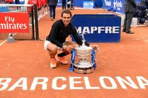 Рафаэль Надаль выиграл в десятый раз турнир в Барселоне