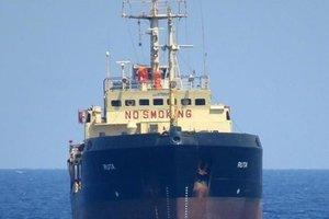 """В Ливии за контрабанду нефти судили 14 украинцев с задержанного танкера """"Рута"""""""