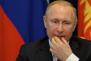 Путин уволил 12 генералов силовых ведомств