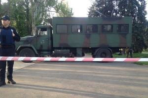 Вход на Куликово поле перекрыли военной техникой