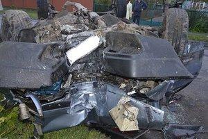 Смертельное ДТП на  Волыни:  машина влетела в дерево и перевернулась