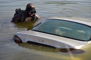 В Запорожской области на дне озера нашли людей, пропавших в Донецкой области