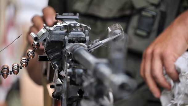 Один украинский военный умер всамом начале суток, еще шестеро ранены— штаб