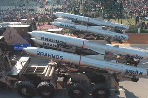 """Индия испытала крылатую ракету """"БраМос"""" модификации """"земля-земля"""""""