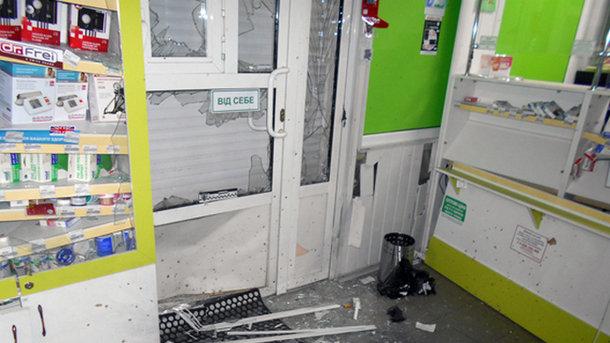 ВХарьковской области вжилом доме произошел взрыв