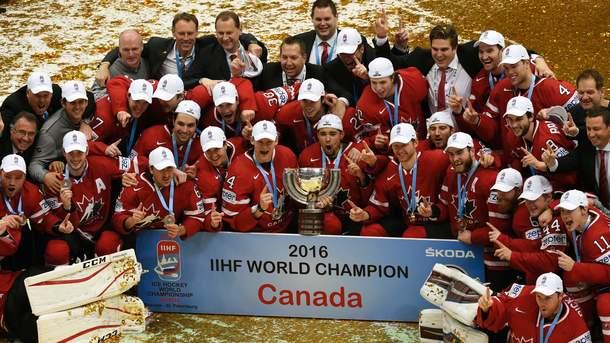 Канада выиграла ЧМ-2016