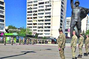 День Победы в Харькове: парад оркестров, живая панорама, флешмоб и фестиваль