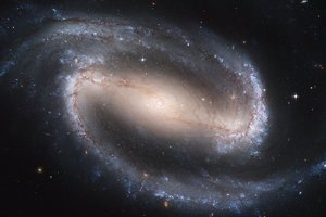 Астрономы показали, как будет выглядеть галактика через пять миллионов лет