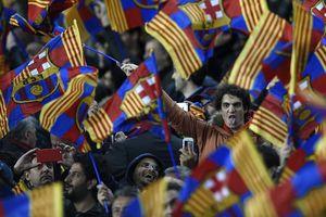 """Фанату """"Барселоны"""" запрещен вход на стадионы за стрельбу по болельщикам соперника"""