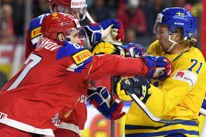 ЧМ-2017: шайбы и моменты матча Швеция - Россия - 1:2