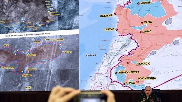 Меморандум озонах деэскалации вСирии вступает всилу 6мая