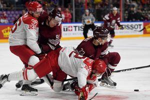 ЧМ по хоккею: сборная Латвии обыграла Данию