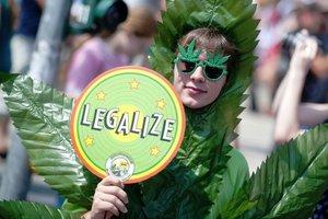 В Германии на демонстрации за легализацию марихуаны вышли жители 26 городов