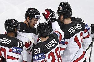 Канада легко обыграла Словению на чемпионате мира по хоккею