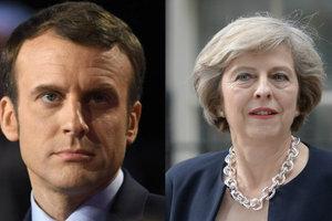 Макрон и Мэй обсудили Brexit