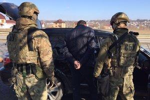 СБУ задержала банду торговцев оружием, похищенным у военных на Донбассе
