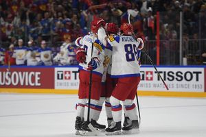 Россия обыграла Германию на чемпионате мира по хоккею