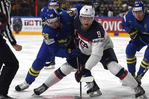 Американцы обыграли шведов на чемпионате мира по хоккею