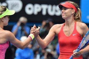 Канадка Эжени Бушар призналась, что многие теннисистки желали ей победы в матче с Шараповой