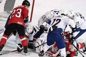 ЧМ-2017 по хоккею: Франция обыграла Швейцарию