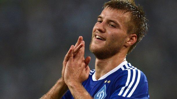 Динамо назвало трансферную стоимость Ярмоленко