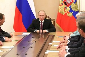 Путин провел совещание Совбеза РФ