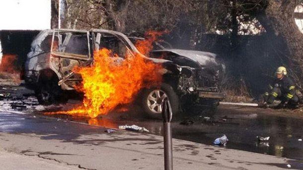 Полковника СБУ вМариуполе взорвала женщина