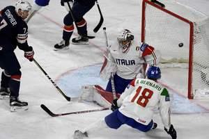 ЧМ по хоккею: обзор матча США - Италия - 3:0