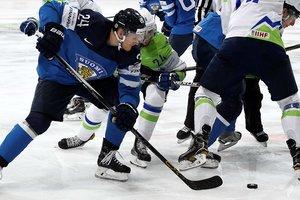 Финны обыграли Словению на чемпионате мира по хоккею