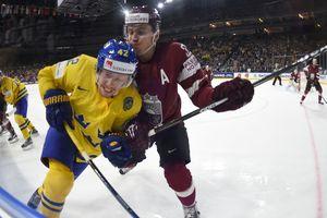 Латвия потерпела первое поражение на хоккейном ЧМ-2017