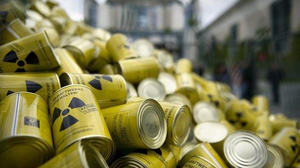 В Украине построят четыре хранилища для ядерных отходов. Фото: AFP