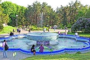 Прогулка по ботсаду Гришко в Киеве: корейский сад и самые старые башенные часы