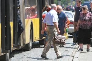13 мая автобусы и троллейбусы в Киеве будут ходить по расписанию рабочего дня