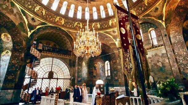 Венчание в Лавре. Фото Instagram